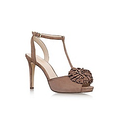 Nine West - Brown 'Essen' high heel sandals