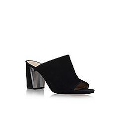 Nine West - Black 'Gemily9' high heel sandals