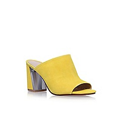 Nine West - Yellow Gemily 9 high heel sandals