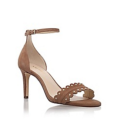 Nine West - Brown 'Idrina' high heel sandals