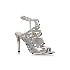 Nine West - Silver 'Nasira' high heel sandals