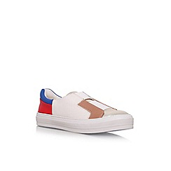 Nine West - Cream 'Obasi3' flat slip on sneakers