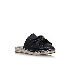 KG Kurt Geiger - Black 'Niamh' flat sandals