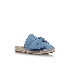 KG Kurt Geiger - Blue 'Niamh' flat sandals