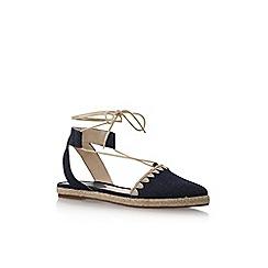 Nine West - Blue 'Unah7' flat sandals