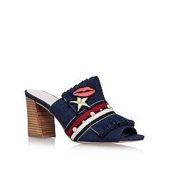 KG Kurt Geiger - Blue 'Mistress' high heel sandals
