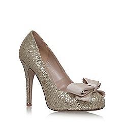 Miss KG - Grey 'Gem' high heel court shoes