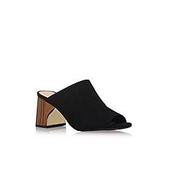 KG Kurt Geiger - Black 'Penny' high heel sandals