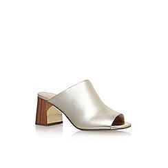 KG Kurt Geiger - Gold 'Penny' high heel sandals