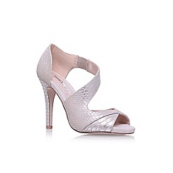 Miss KG - Gold Flow high heel sandals