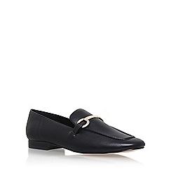 KG Kurt Geiger - Black 'Gogo' low heel loafers