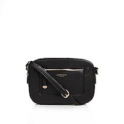 Carvela - Black 'Mia X' body handbag shoulder straps