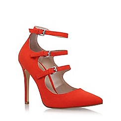 Carvela - Orange 'Lynx' high heel sandals