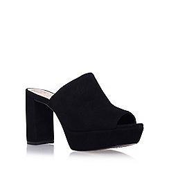 Vince Camuto - Black 'Basilia' high heel sandals