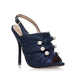 KG Kurt Geiger - Blue 'Jem' high heel sandals