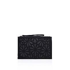 Miss KG - Black 'Hopeful' clutch bag