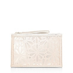 Miss KG - Gold 'Hopeful' clutch bag