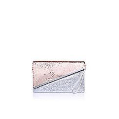 Miss KG - Grey hallie clutch bag