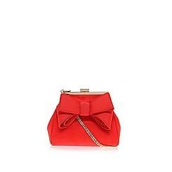 Miss KG - Red Tara clutch bag