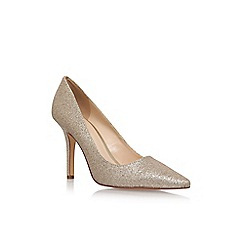 Nine West - Gold 'Jackpot' high heel court shoes