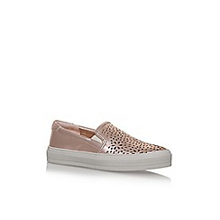 Nine West - Grey 'Opaqque' flat slip on sneakers