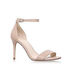 Nine West - Natural 'Rave' high heel sandals