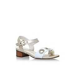 Anne Klein - Gold 'Ellamay' low heel sandals