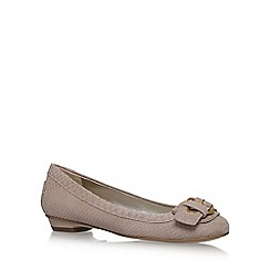 Anne Klein - Brown 'Mady' flat slip on pumps