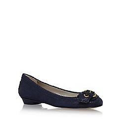 Anne Klein - Blue 'Mady' flat slip on pumps