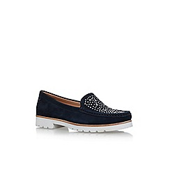 Carvela Comfort - Blue 'Cilla' flat slip on loafers