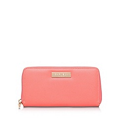 Carvela - Orange 'Alis' zip fastening purse