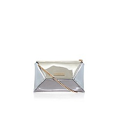 Carvela - Gold 'Gleam' envelope clutch bag
