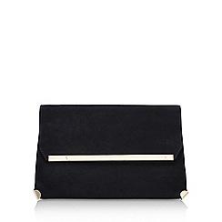 Carvela - Black 'Gene' clutch bag