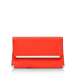 Carvela - Orange 'GENE' clutch bag