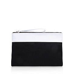 Miss KG - Black 'Thea' clutch bag