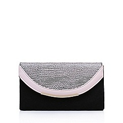 Miss KG - Black 'Harry' clutch bag