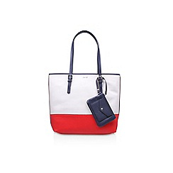 Nine West - White 'Deda Tote LG' bag
