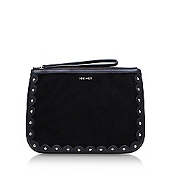 Nine West - Black 'Enrin Wrislet' clutch bag