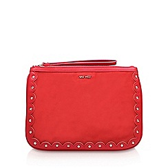 Nine West - Red 'Enrin Wrislet' clutch bag