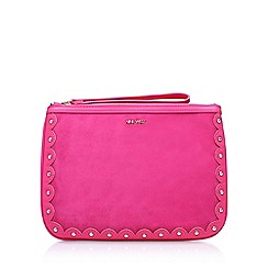 Nine West - Pink 'Enrin Wrislet' clutch bag