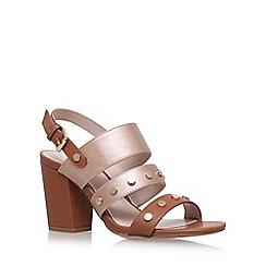 Nine West - Brown 'Bold' high heel sandals