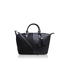 Nine West - Black 'Face Forward Satchel' tote bag