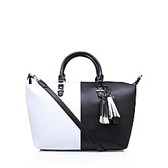 Nine West - Black 'Face Forward Satchel' handbag with shoulder straps