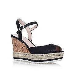 Nine West - Black 'Debi' high heel sandals