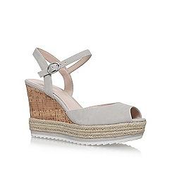 Nine West - Grey 'Debi' high heel sandals