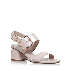 Nine West - Natural 'Emilia' high heel sandals