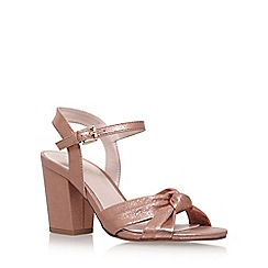 Nine West - Gold 'Starrynight' high heel sandals