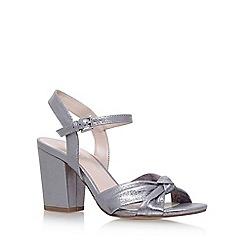 Nine West - Silver 'Starrynight' high heel sandals