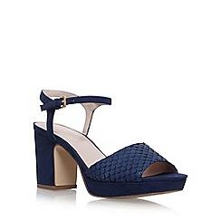 Nine West - Blue 'Vice' high heel sandals