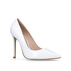 Carvela - White 'Alice' court shoes